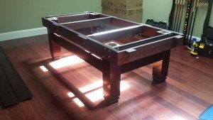 Pool and billiard table set ups and installations in Annapolis Maryland